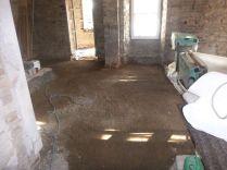 Floor prep - main hall 2 - 09042015