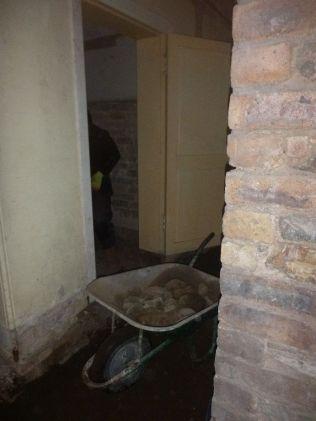 Floors - excavating - 09042015