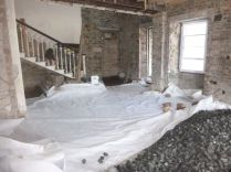 Geotextile - main hall 2 - 09042015