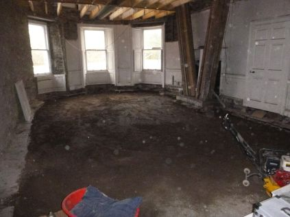 Levelled round room - 04042015
