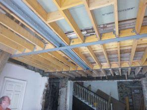 Painted metal beams - 05042015