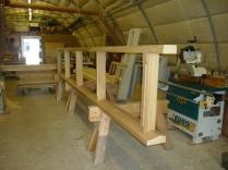 Potting shed frame 1 - 30042015