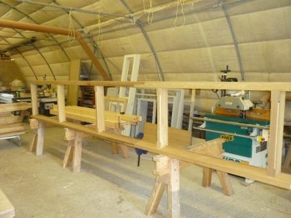 Potting shed frame 2 - 30042015