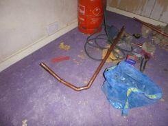 Attic pipework - 17052015