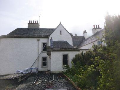 Porch with no scaffold - 17052015