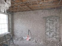 Kitchen wall stripped - 02072015 - JUNE