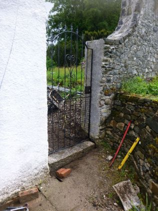 New gate with step - 21062015