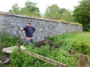 Paul & his manure - 20062015