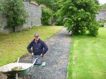 Paul weeding path 2 - 21062015