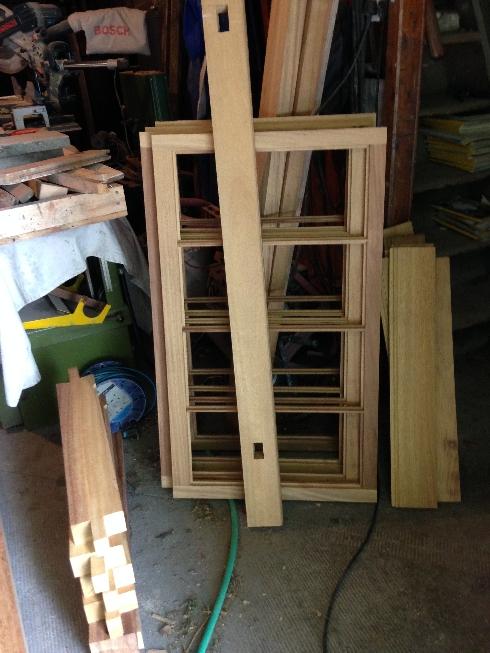 Potting shed windows - July 2015 - SH
