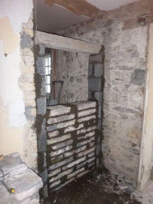Blocking up properties - ground floor - 20082015