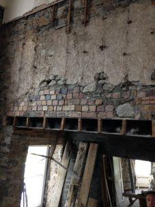 Main hall internal wall - 21082015 - SH