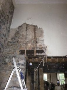 More rot in main hall - 20082015