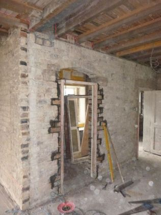 Pantry door frame - 22082015