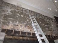Pointing hall wall - 29082015