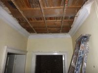 Ceiling removal in corridor 2 - 21092015
