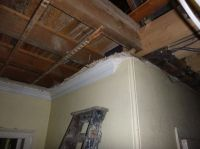 Ceiling removal in corridor - 21092015
