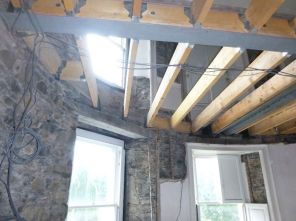joists in round room 3 - 12092015