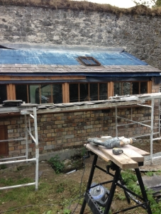 Potting shed roof 1 - 11092015 - SH
