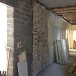 Corridor plaster removal - 01102015 - SH