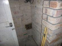 Hole by kitchen door - 18102015