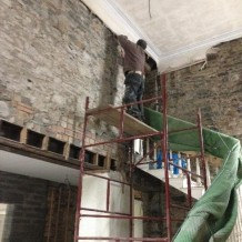 PLaster removal 2 - main hall - 13102105 - SH