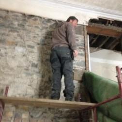 PLaster removal 4 - main hall - 13102105 - SH