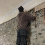 PLaster removal - main hall - 13102105 - SH