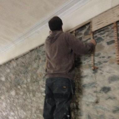 PLaster removal - main hall - 13102105 - SH