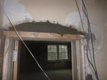 Arch above kitchen door 2 - 05112015
