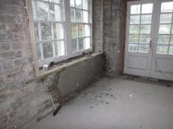 Base coat under window in kitchen - 05112015