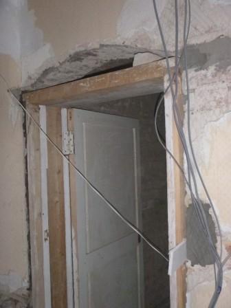 Kitchen door frame - 01112015