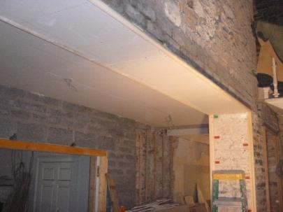 Main hall - under steel beams - 05112015