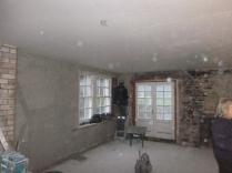 plasterers in kitchen - 17112015