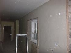 plastering in corridor - 18112015