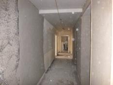 plastering in corridor - 19112015