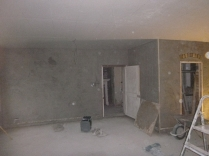 plastering in kitchen 2 - 18112015