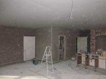 plastering in kitchen 2 - 19112015
