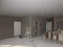 plastering in kitchen 2 - 19112015