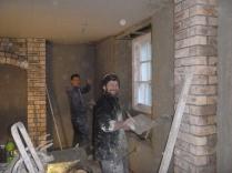 plastering in kitchen 2 - 20112015
