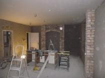 plastering in kitchen 3 - 18112015