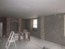 plastering in kitchen 3 - 19112015