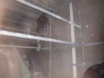 plastering in main hall - 20112015