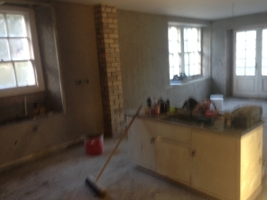 PLastering - kitchen- 25112015 - TC