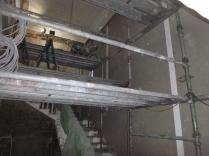plastering main hall - 19112015