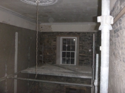 plastering main hall 2 - 19112015