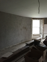 Round room plastering - 20122015