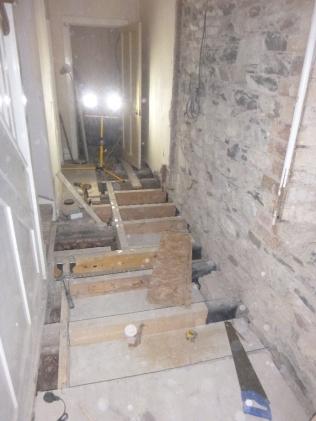 Beams in corridor - 17012016