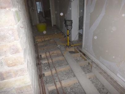Pipework in upstairs corridor - 14022016