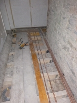 Plumbing in corridor 1 - 30012016